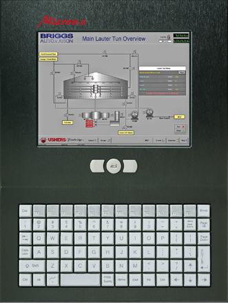 Micron-II with KB and TOUCH SCREEN