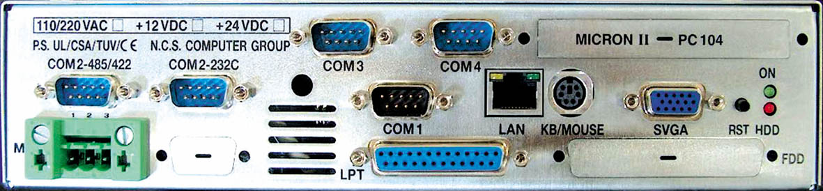 MICRON-II SIDE CONNECTORS